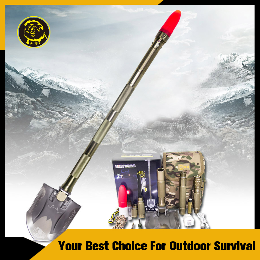 Off Road Vehicle Accessories/Emergency Survival Gear/Multifunction Shovel