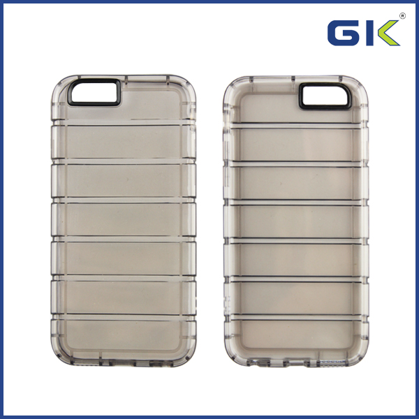 [GGIT] Uneven Soft TPU PC Back Cover Bumper For IPhone 6 Phone Case