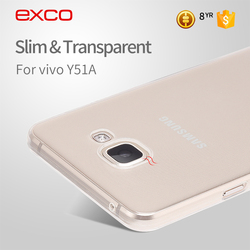 EXCO New transparent TPU cheap mobile phone cases for Samsung A7 / for SM-A7100