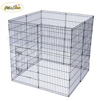 Metal Folding Adjustable Dogs Pet Exercise Playpen transport animal strong cage