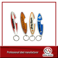 DB surfboard bottle opener keychain