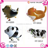 Cheap price walking foil balloon, walking pet balloon
