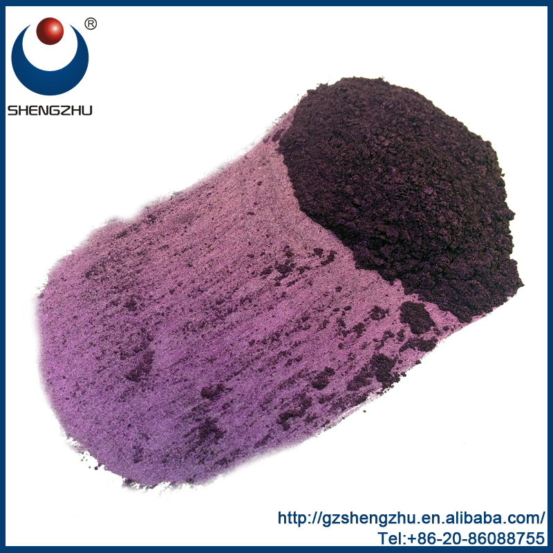 Deep purple | Brown | Green Chameleon Multicolor Pearlescent Pigment