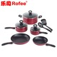 solingen cookware ceramic nonstick 10-piece cookware made in japan tools of the trade cookware manufacturer