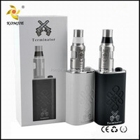 2015 New products mini e cigarette 18650 mechanical box mod come with bottle bottom feeder mod Terminator mod