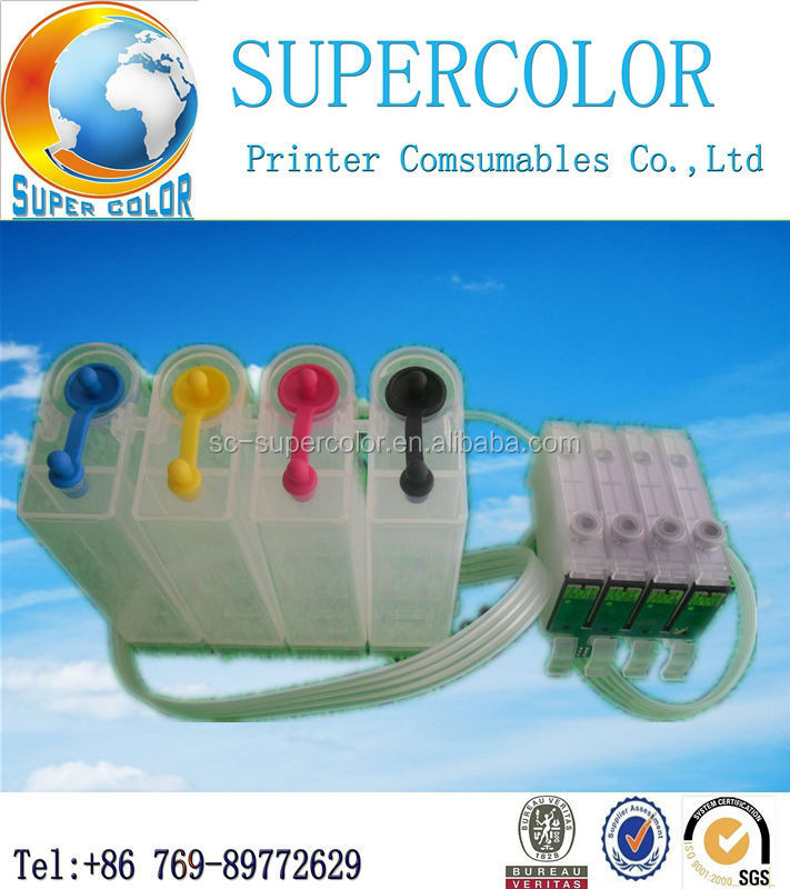 Adaptability product from supercolor for Epson CISS WF-2521 WF-2531 WF-2541 printer ink tank