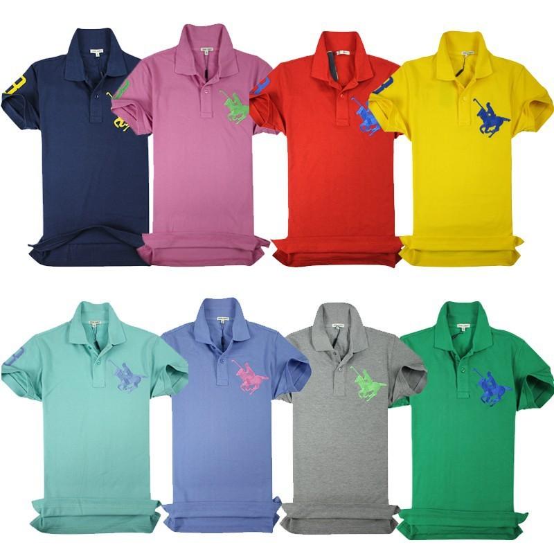 Embroidery logo wholesale polo t shirt latest design