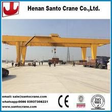 Customized steel plate gantry crane with installation