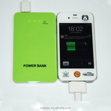 New design with touch panel portable power bank, power bank for smart phone