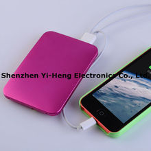 wholesale portable Power Bank 5600 mAh power bank gift mobile phone charger