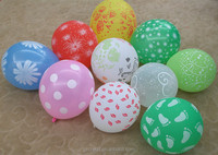 2015 new design 5sides one color printed balloon
