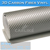 Heat Resistant Waterproof Auto Decoration 3D Carbon Fiber Car Vinyl Wrap