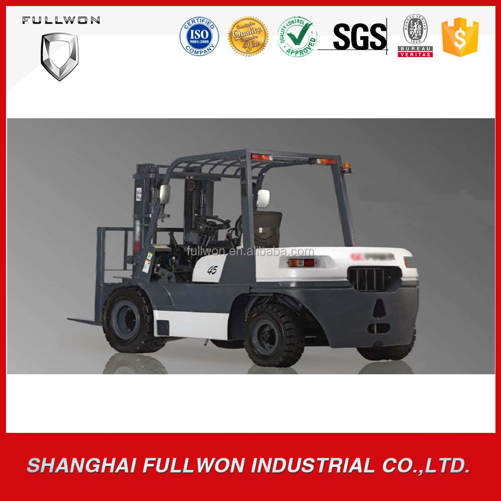 Toyota brand China made 4.5 ton diesel forklift truck with Good Price