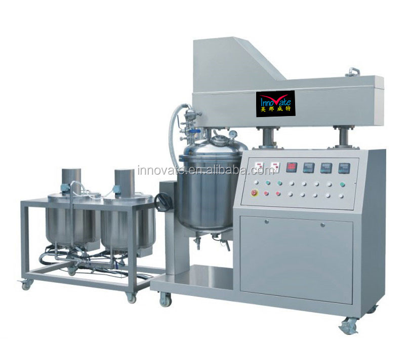 2017 Manufacturer Emulsifier Mixer Vacuum Emulsifying Mixer Laboratory Homogenizer for wholesales