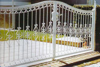 Metal material gate design/ Turnstile Gates metal gate/ Modern house/farm steel/metal/iron gate design