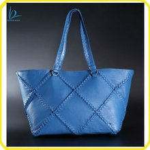 2013 spring fashion women lambskin tote bag