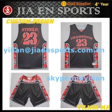 basketball jersey and shorts designs wholesale basketball jersey black and red