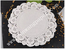 HOT!!!Top selling,100%food grade lace elegant paper Doilies with flexo printing