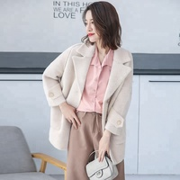 Women Daily Wear Fashion Top,Pure Colour Thick Loose Cardigan Sweater