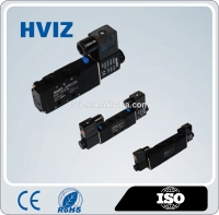 China supplier High quality low price 4V Series 5/2 way solenoid air valve / pneumatic valve