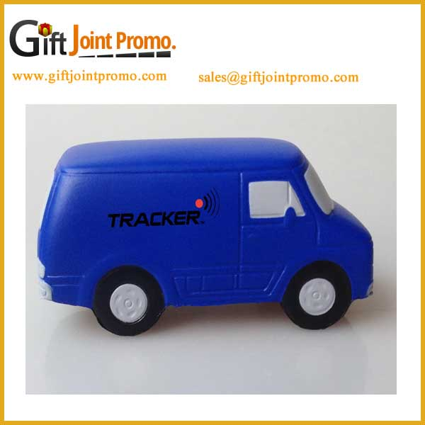 Wholesale PU Van Shaped Anti Stress Ball