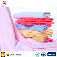 China factory low price 100% Cotton Material usa national printing flag beach towel