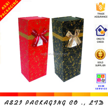 custom packaging luxury wine carrier box
