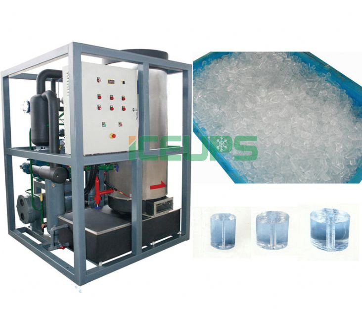 Commercial Tube ice makers, Granular ice, Cooling drinks