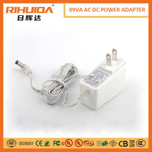 Hot sale New products colorful 5v /9V/12v power adapter charger for phone mobile phon ablet led UL CE FCC ROHS approved