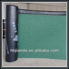 factory sale 3mm SBS modified asphalt waterproof membrane with mineral granules for roof