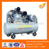 Belt driver 1hp piston air compressor