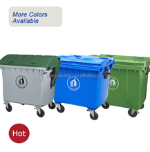 disposable container industry dustbin wholesale 1100L trash can penang