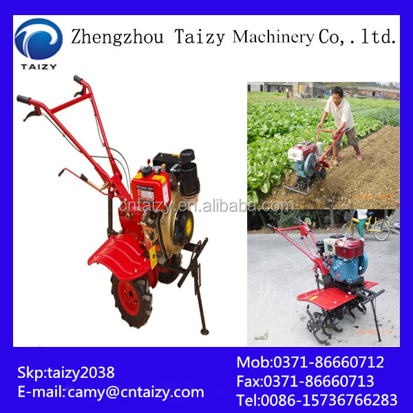 Farmland vegetable graden ridging machine | trencher | laminating machine