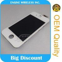 LCD Screen with Digitizer + free Tools for iphone 4s lcd screen and digitizer assembly