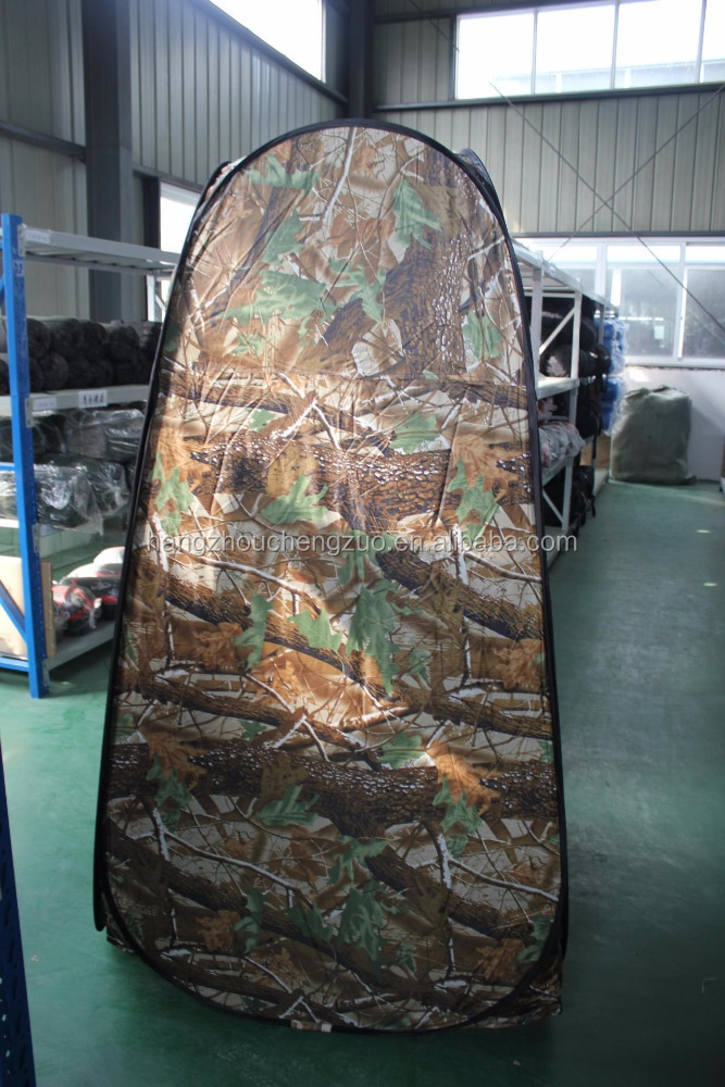Hot Sale 1 Person Camouflage Dressing Tent,CZH-14 Easy Folding Changing Tent Portable Camping Shower Tent,Toilet Tent Bath Room