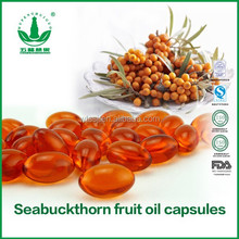 GMP Factory direct provide healthcare food seabuckthorn oil (omega 3) capsules