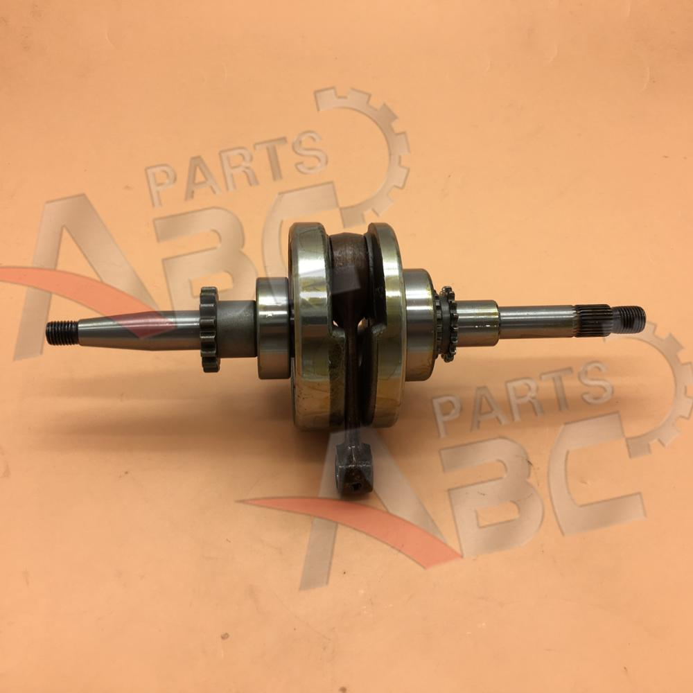 16T GY6 50cc Crankshaft Crank For 139QMB 139QMA Taotao Roketa SUNL JCL JONWAY Scooter Moped