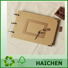 New style wooden photo album cover maker