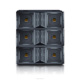 VT4888 pro audio equipment daul 12 inch array speakers