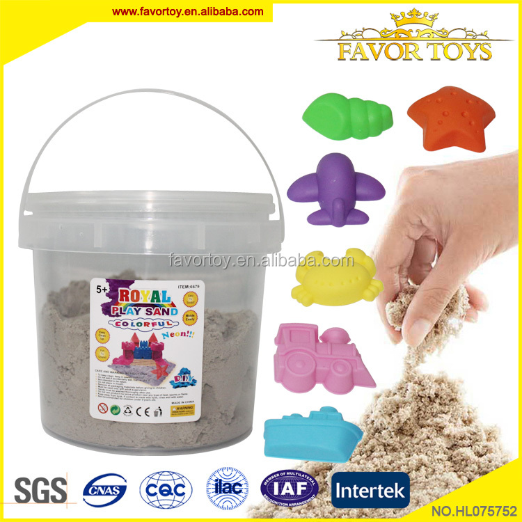 New product custom educational kids 1000G DIY magic play sand toy