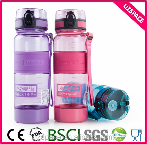 Logo Printed Sports negative ion plastic water bottles 500ml