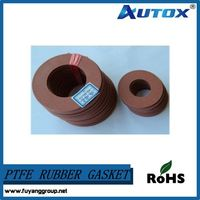 Chinese manufacturer high quality reinforced PTFE rubber gasket