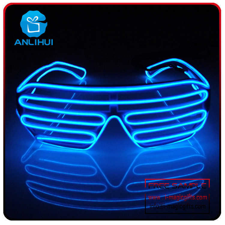 Shutter EL led flashing Sunglasses