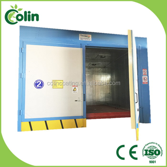 Durable in use hot sale gas powder coating oven infrared heater