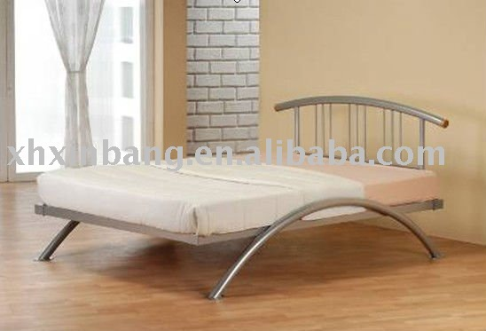 Modern Metal Bed Frames modern metal bed - buy double bed,metal bed,iron bed product on