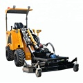 1000kg compact efficient lawn mower loader