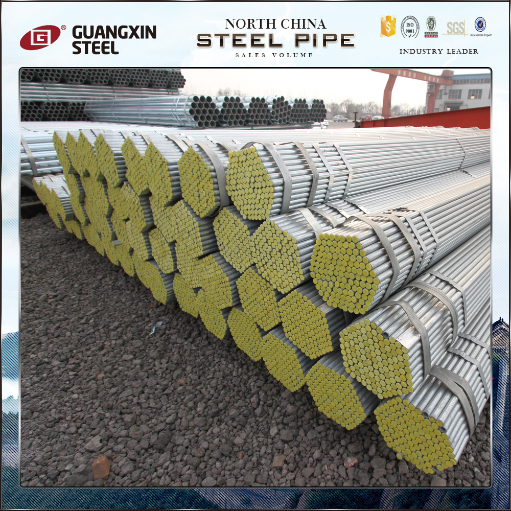 High quality!!galvanized pipe/building materials/galvanized holl