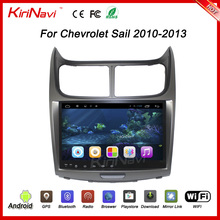 "KiriNavi WC-CS9010 9"" android 6.0 car audio for chevrolet sail dvd player with gps 2010 - 2013 touch screen"