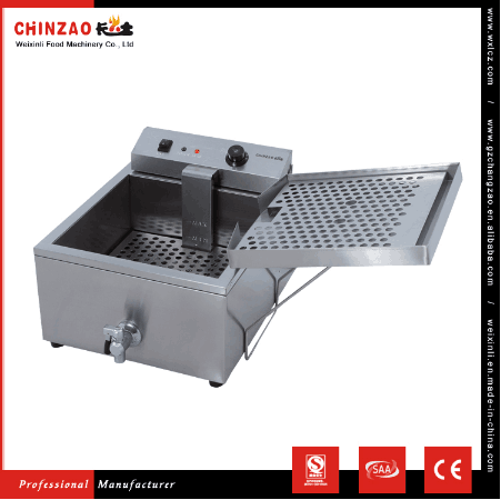 PROFESSIONAL KITCHEN EQUIPMENT DEEP ELECTRIC CHICKEN PRESSURE FRYER OF CHINZAO ALIBABA