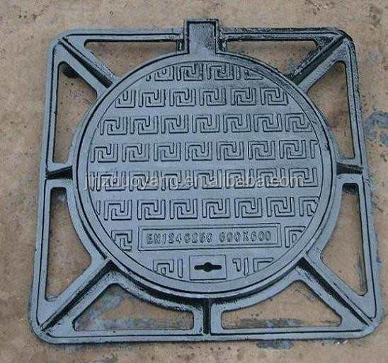 cast iron ductile iron manhole cover